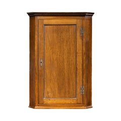 Good George III Period Mahogany Corner Cupboard