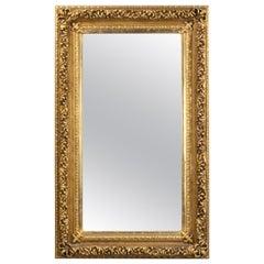 Good Large Early 20th Century Rectangular Mirror