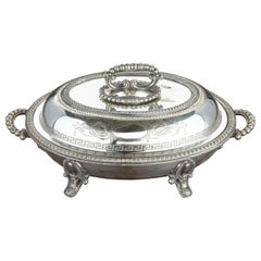 Good Late 19th Century EPNS Silver Plated Oval Entrée Dish