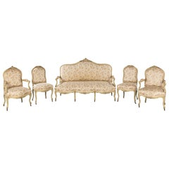 Good Quality Late 19th Century French Salon Suite