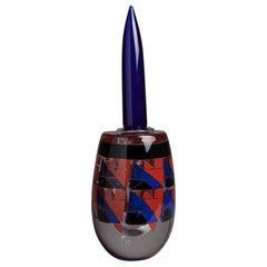 Graal Designed 'Tangram' Glass Decanter Dated 2001