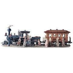 Grand Adventure Train Sculpture, Limited Edition