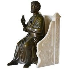 Grand Tour Bronze Sculpture of St. Peter