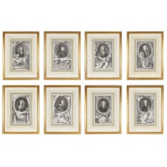 Group of 18th Century Portrait Etchings