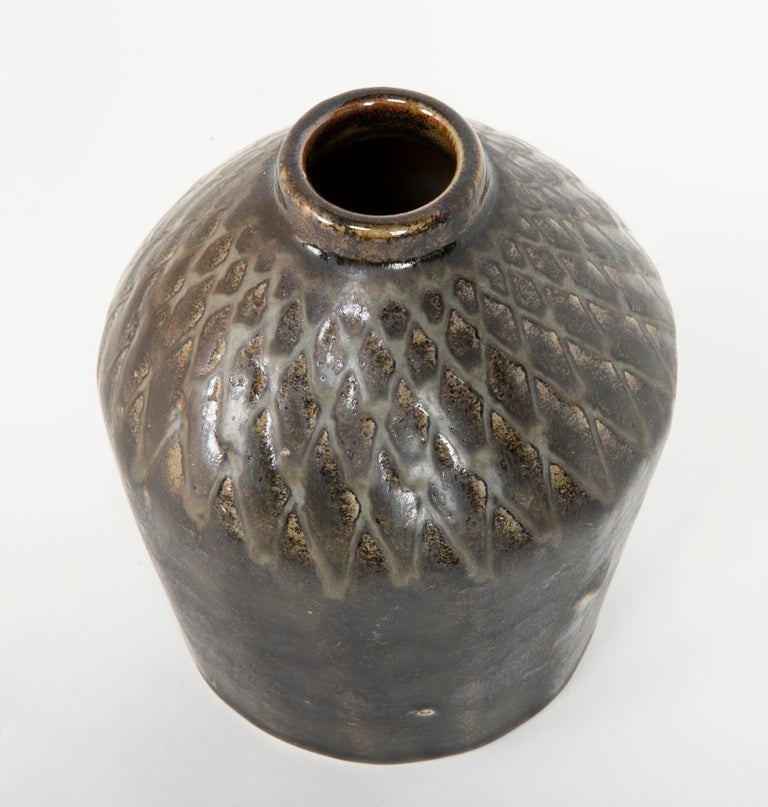 Group of Three Glazed Porcelain