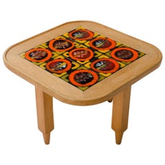 Guillerme et Chambron Small Square Table