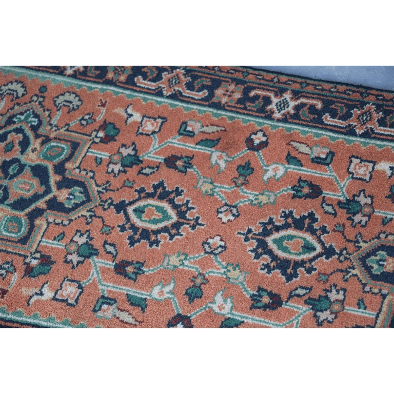 Persian Hand Knotted Wool Rug For Sale