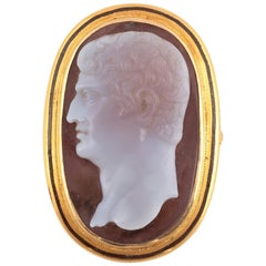 Hardstone Cameo of a Man, 18th-19th Century
