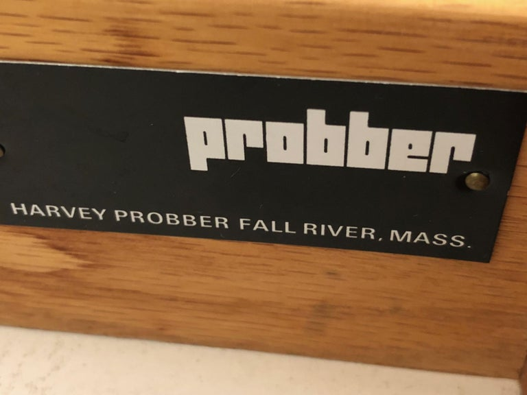 Harvey Probber Credenza with Caned Panels In Good Condition For Sale In St.Petersburg, FL