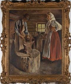 A. Haybors - 20th Century Oil, The Blacksmith