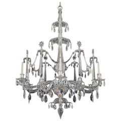 Highly Important George III Period Chandelier by Christopher Haedy