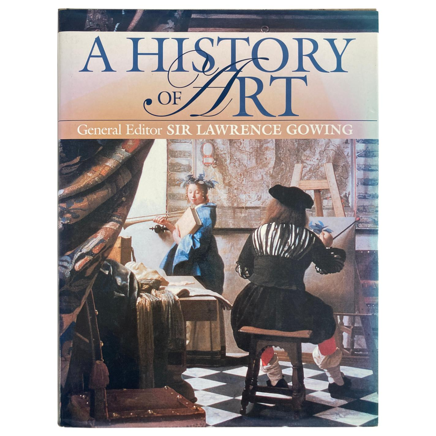 A History of Art by Lawrence Gowing Large Heavy Art Table Book