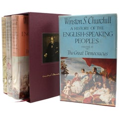 History of the English-Speaking Peoples by Winston Churchill, First Edition