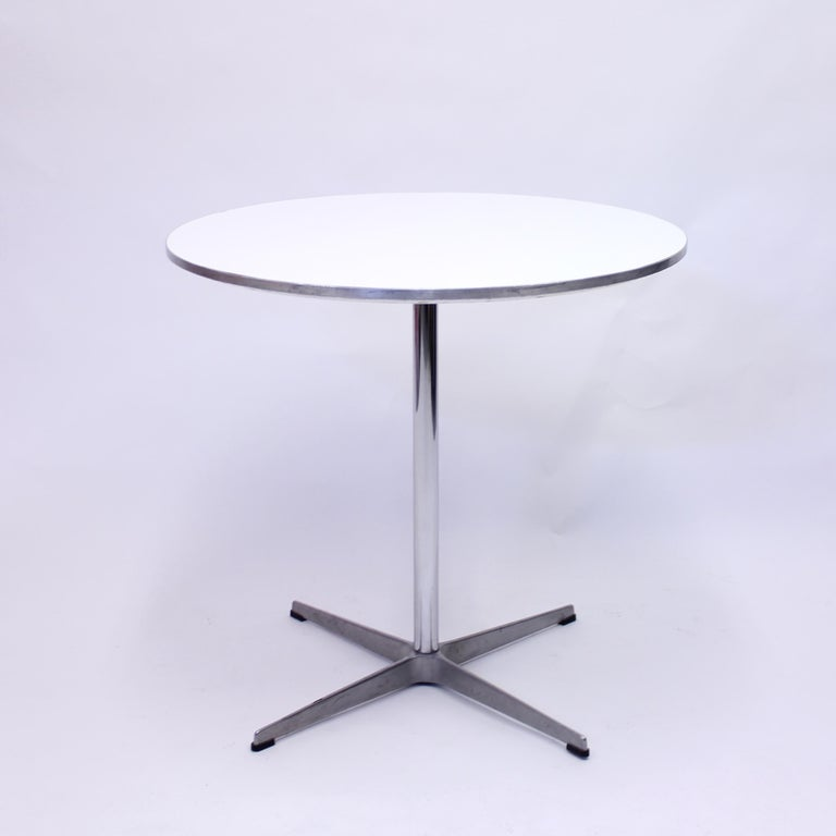Danish A. Jacobsen, B. Mathsson, P. Hein, Circular Dining Table, Fritz Hansen, 1987