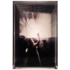 A Janela 'The Window', Electrical Lightbox Made of Multiple Exposure Photograph