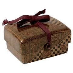 A Japanese antique sweet-Box 'Kashibako' Edo Period (1603-1868), 17th Century