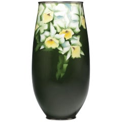 Japanese Cloisonné Vase by Ando, Mid Showa Period