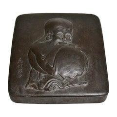 Japanese Iron Writing Box