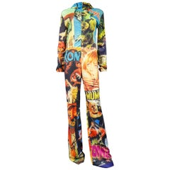 A Jean Charles de Castelbajac Jumpsuit in Printed Neoprene Collection 2001/2002
