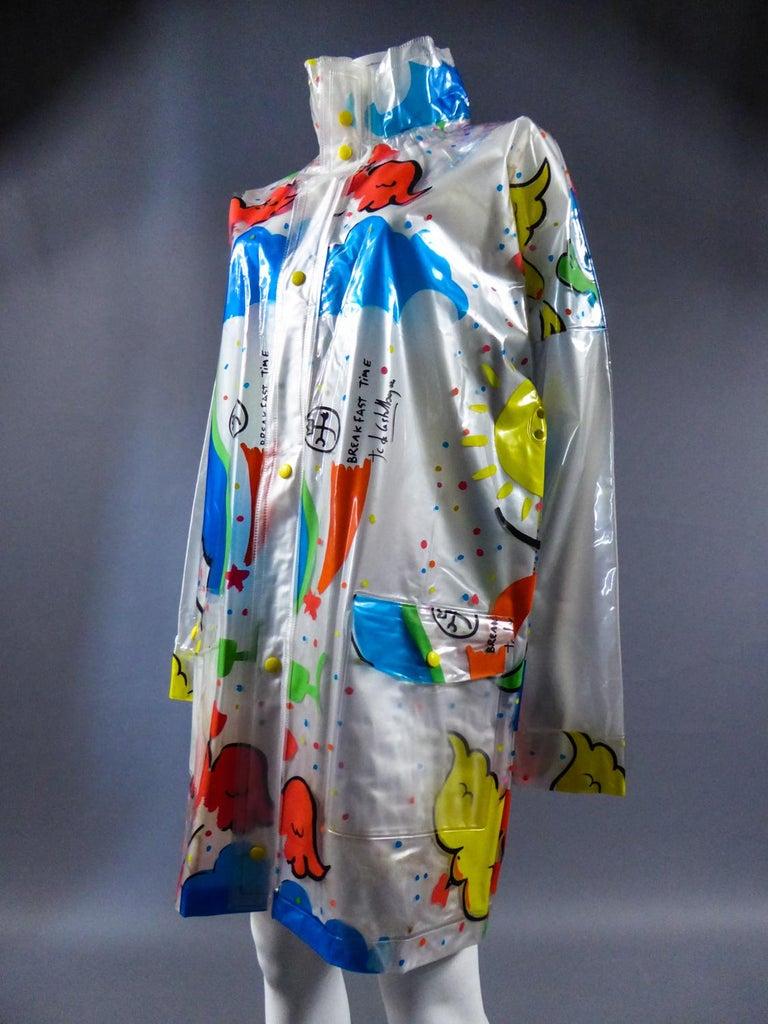 A Jean-Charles de Castelbajac Raincoat named