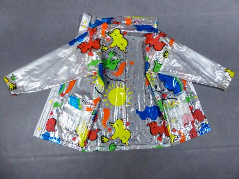 Circa 2000 France  Raincoat