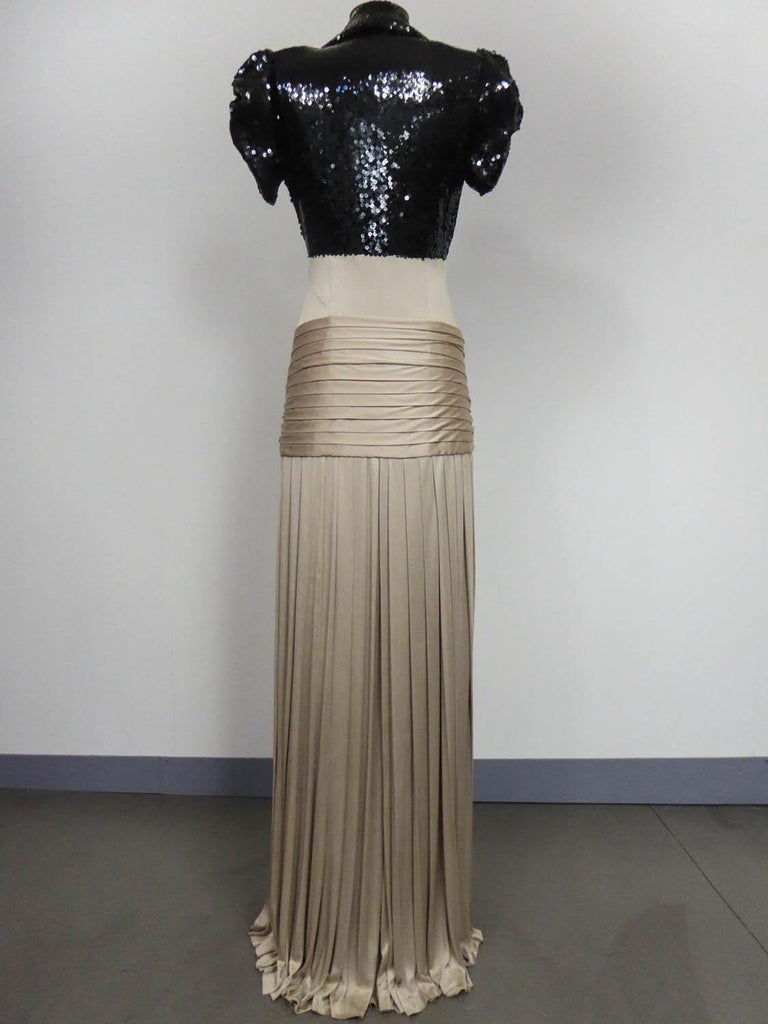 A Jean-Louis Scherrer Fashion Show Dress by Stéphane Roland Collection Fall 2004 For Sale 5