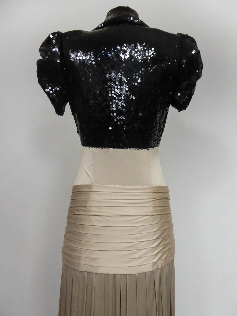 A Jean-Louis Scherrer Fashion Show Dress by Stéphane Roland Collection Fall 2004 For Sale 6