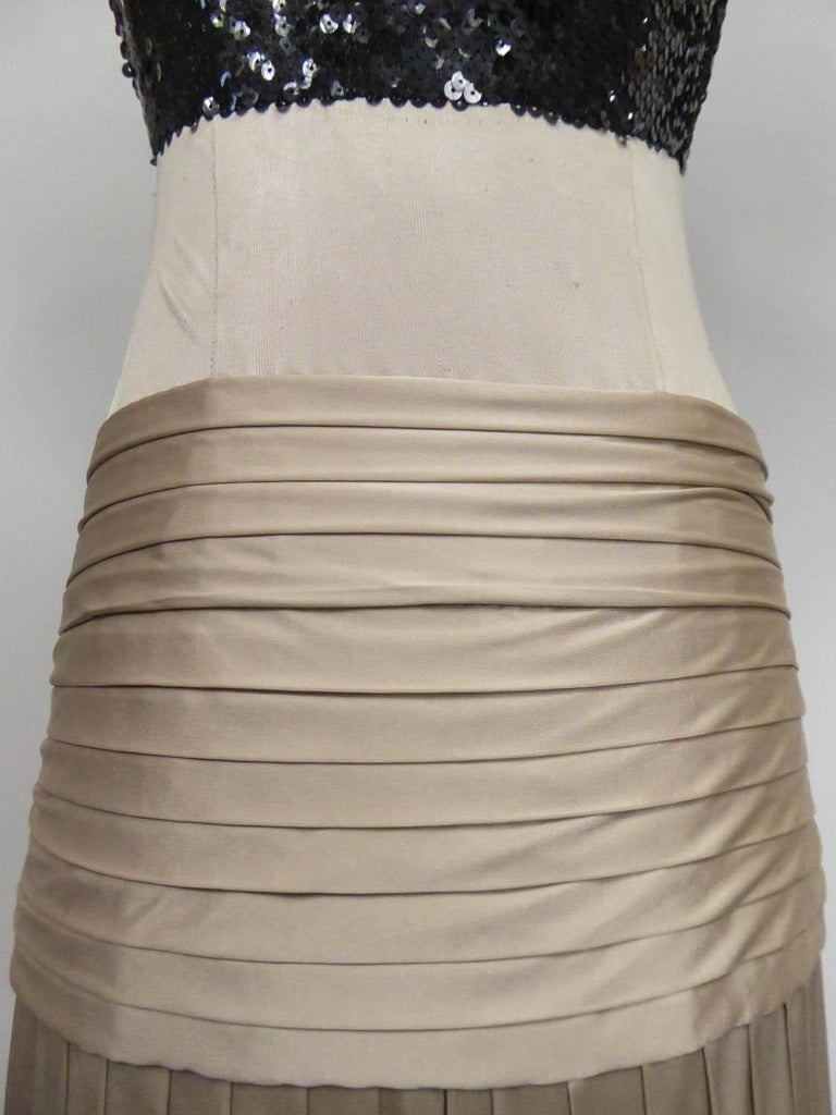 A Jean-Louis Scherrer Fashion Show Dress by Stéphane Roland Collection Fall 2004 For Sale 7