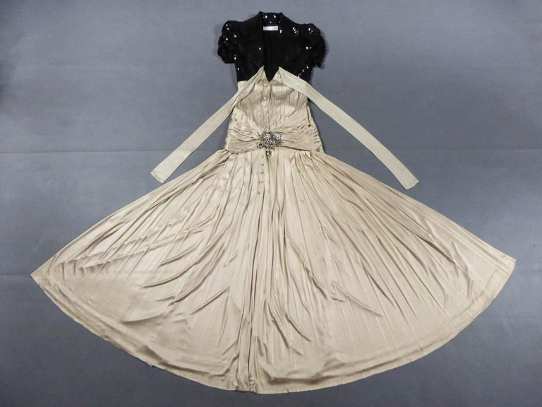 A Jean-Louis Scherrer Fashion Show Dress by Stéphane Roland Collection Fall 2004 For Sale 9