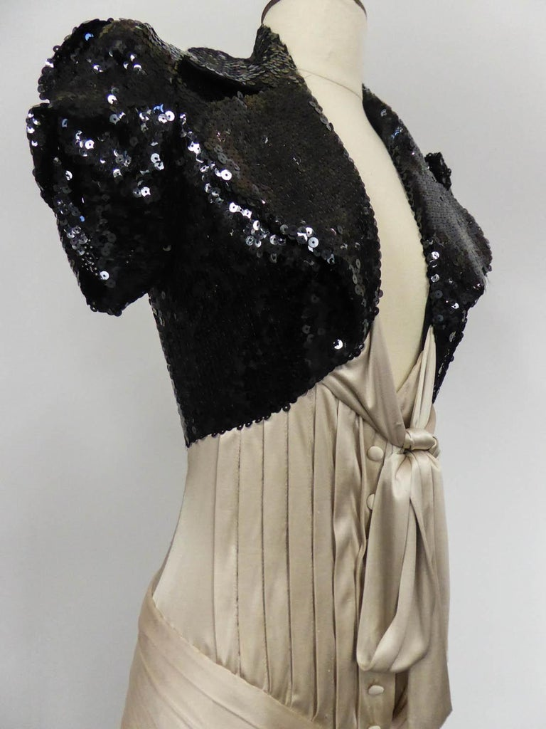 A Jean-Louis Scherrer Fashion Show Dress by Stéphane Roland Collection Fall 2004 For Sale 2