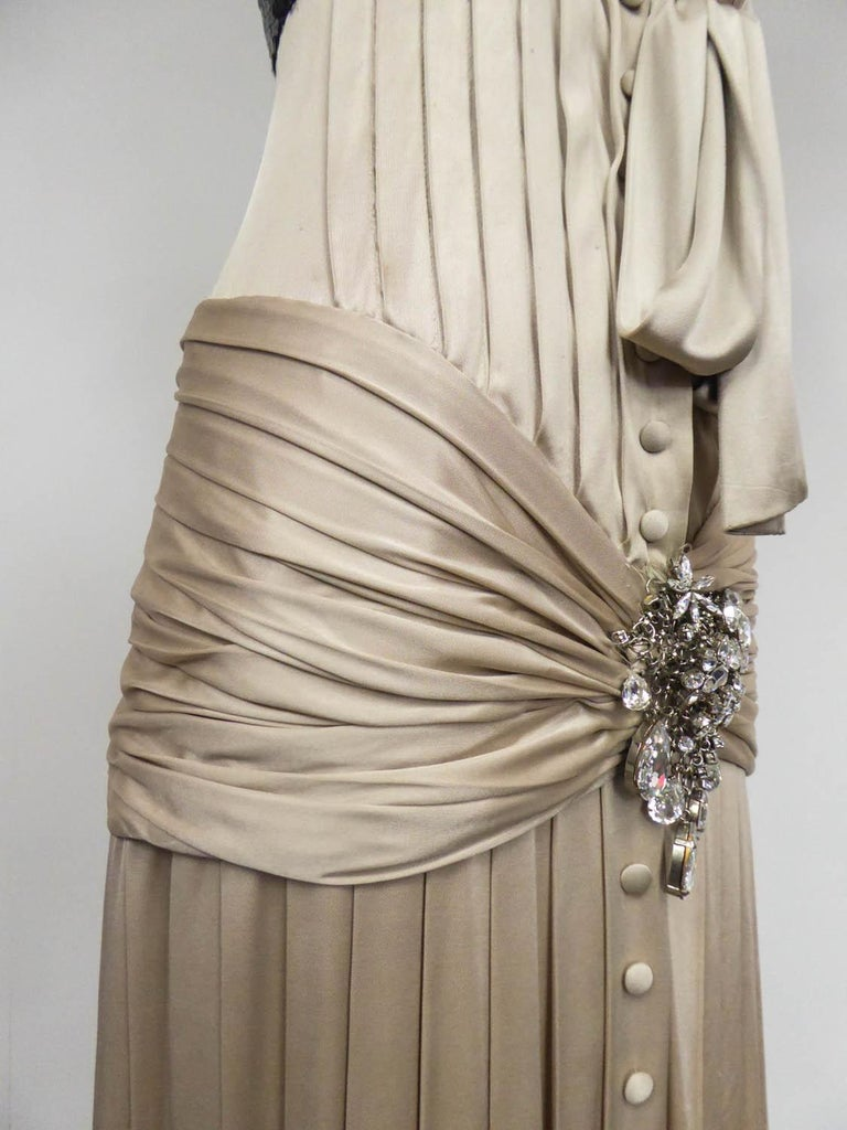 A Jean-Louis Scherrer Fashion Show Dress by Stéphane Roland Collection Fall 2004 For Sale 3