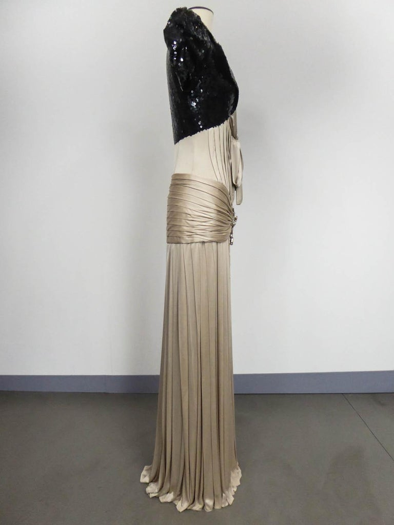 A Jean-Louis Scherrer Fashion Show Dress by Stéphane Roland Collection Fall 2004 For Sale 4