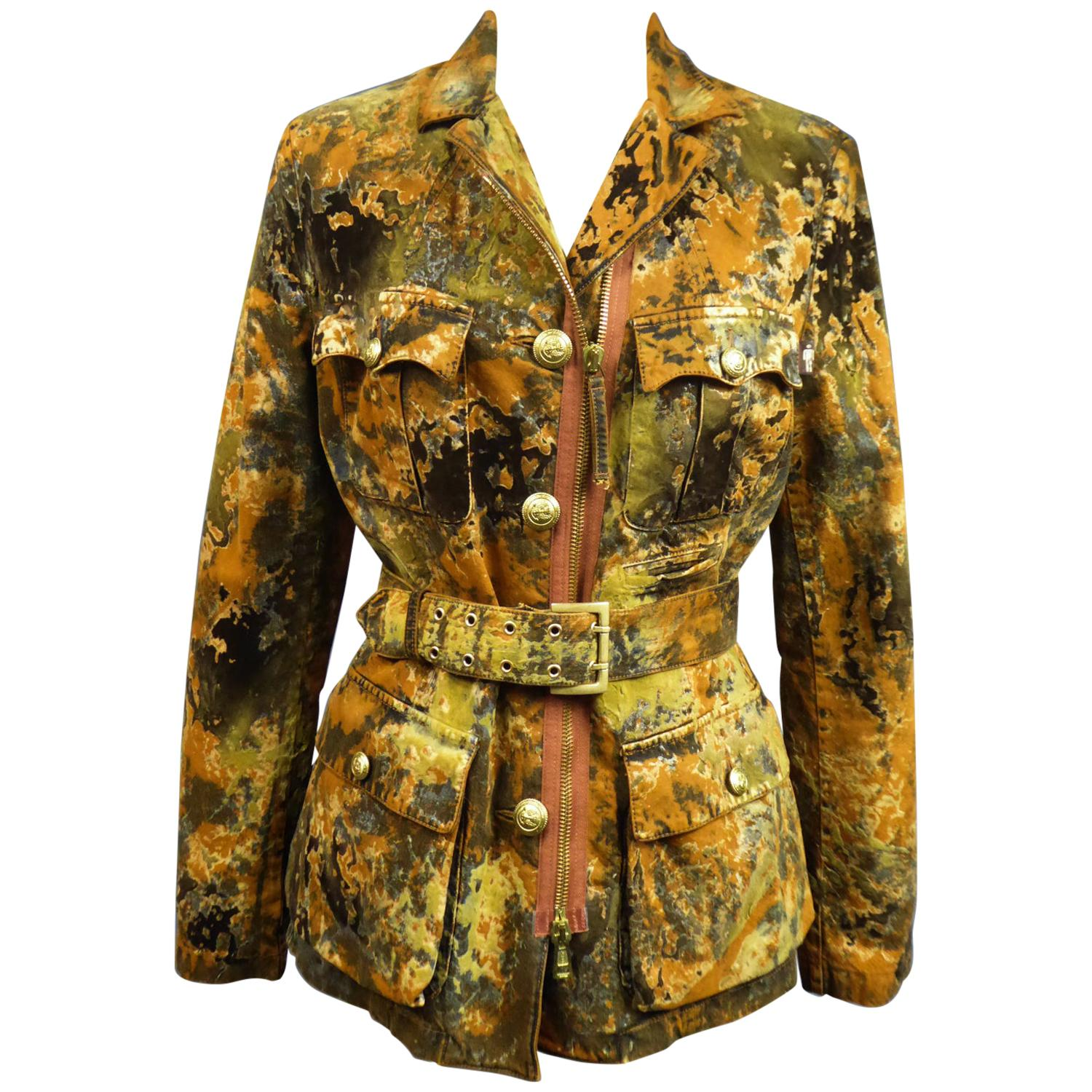 A Jean-Paul Gaultier Jacket of Military Inspiration Circa 2005/2010