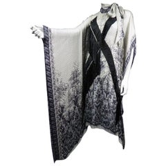 A Jean-Paul Gaultier Tunic Dress in Printed Silk - Spring / Summer 2009