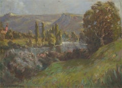 A. Jeaumougin - Mid 20th Century Oil, French Landscape