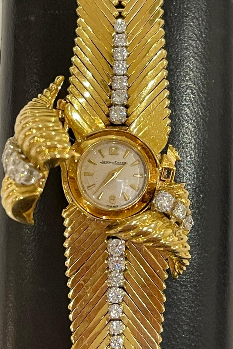 Kutchinsky 18kt Yellow Gold and Diamond Ladies Wristwatch, in Original Box In Good Condition For Sale In Mayfair, GB