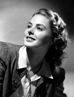Ingrid Bergman Leaning Back Movie Star News Fine Art Print