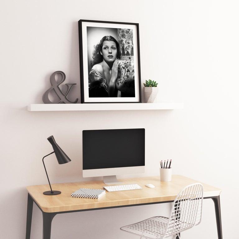 Rita Hayworth Classical Glamour Fine Art Print For Sale 2