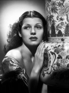 Rita Hayworth Classical Glamour Fine Art Print