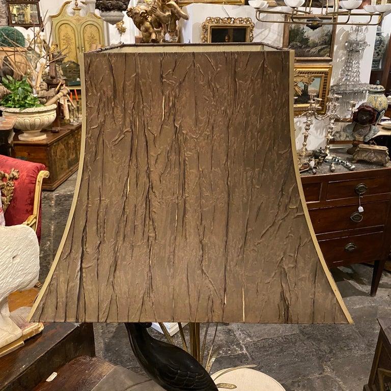 Lanciotto Galeotti Mid-Century Modern Brass Italian Table Lamp, circa 1950 For Sale 5