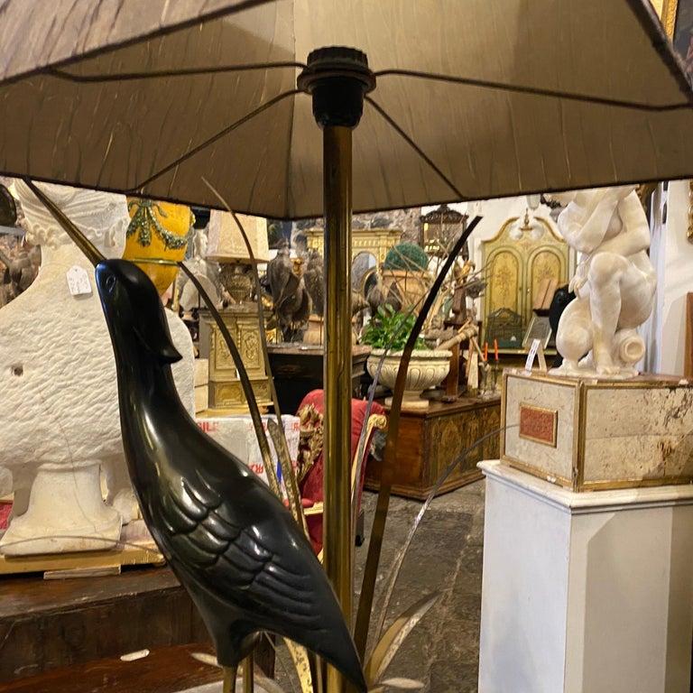 Lanciotto Galeotti Mid-Century Modern Brass Italian Table Lamp, circa 1950 For Sale 11