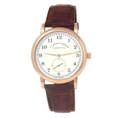 A. Lange & Sohne 1815 206.032, Silver Dial, Certified and Warranty