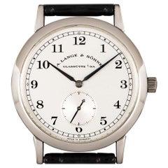 A. Lange & Söhne 1815 Platinum Silver Dial 206.025 Watch