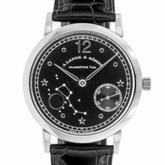 Lange & Sohne 231.035 Hommage to Emil Lange Limited Edition Platinum Moonphase