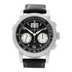 A. Lange & Sohne Datograph 403.035, Black Dial, Certified