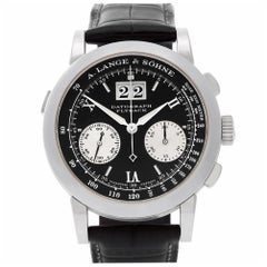 A. Lange & Sohne Datograph 403.035, Case, Certified and Warranty