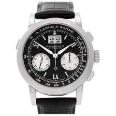 A. Lange & Sohne Datograph 403.035, Certified and Warranty