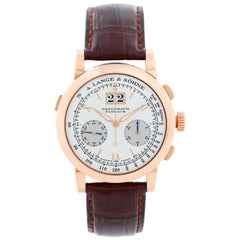 A. Lange & Sohne Datograph Flyback Rose Gold Men's Watch 403.032