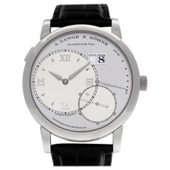 A. Lange & Söhne Lange 1 115.025, Certified and Warranty