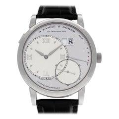 A. Lange & Sohne Lange 1 115.025, Silver Dial, Certified